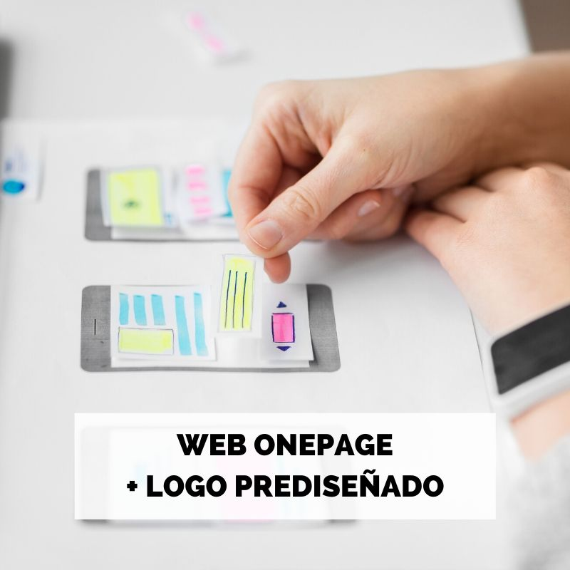 ONE PAGE + LOGO